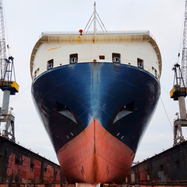 Bild Stadtführung Hamburg ConRo-Frachter im Dock Hamburger Hafen